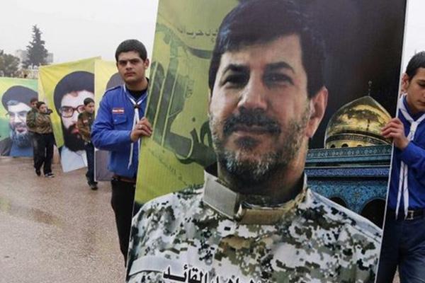 Hezbollah commander Hassan Lakkis buried in Baalbek