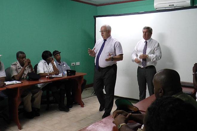 Prison management training