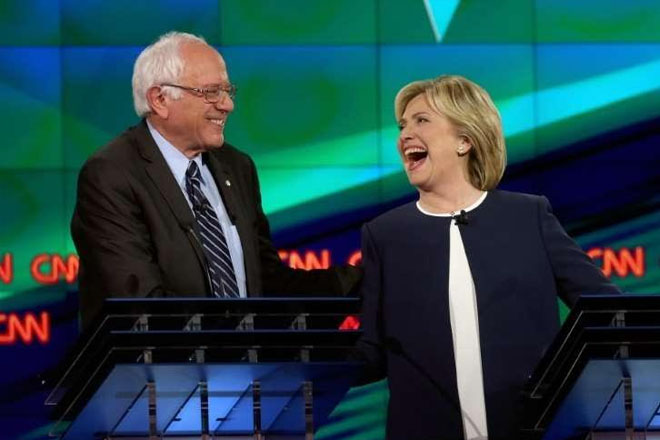 US Election 2016: Clinton And Sanders Compete In Wyoming Caucuses