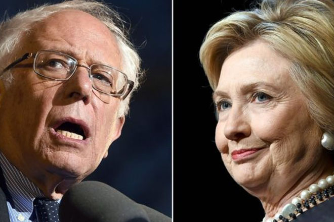 US election: Tensions escalate between Hillary Clinton and Bernie Sanders