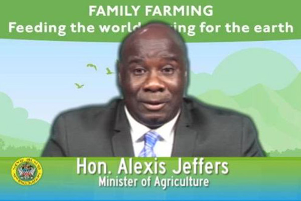 Nevis Agriculture Minister delivers address for World Food Day 2014