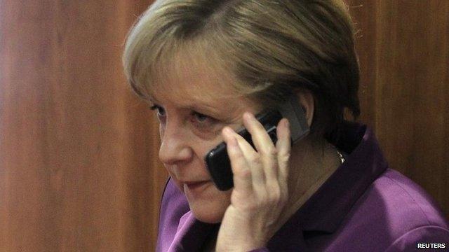 US ambassador to Germany summoned in Merkel mobile row