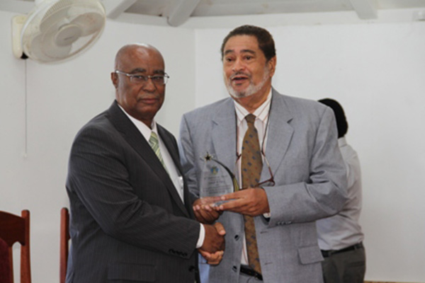 Nevis Island Assembly recognizes Nevis Premier and Opposition Leader as longest serving parliamentarians