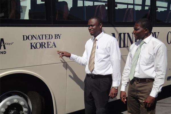 New School Bus Fills Transportation Need