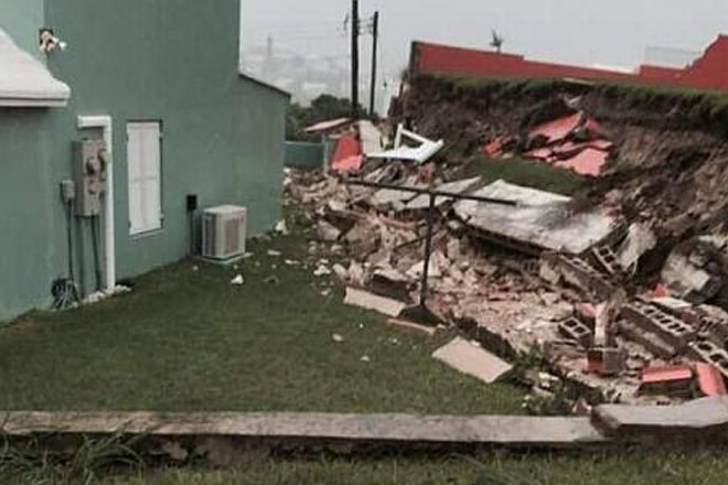 Bermuda cleans up after Joaquin