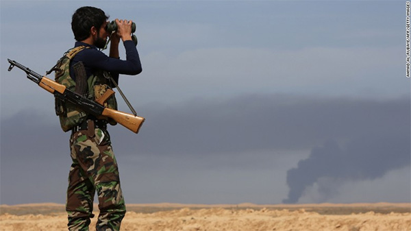 Iraqi forces retake most of Tikrit from ISIS