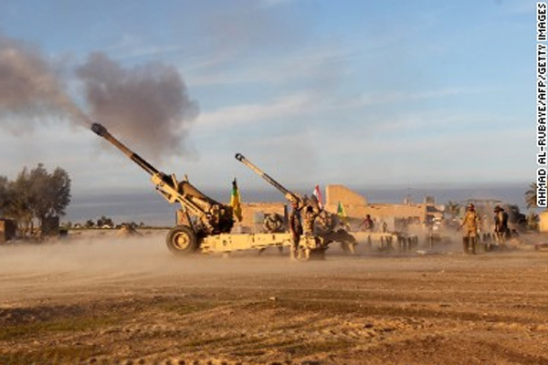 ISIS blows up Iraqi army HQ in battle for Ramadi