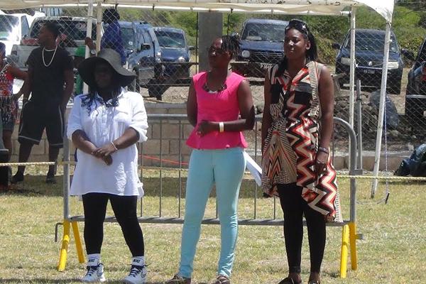 Kerisha takes salute at IWPS Sports Meet