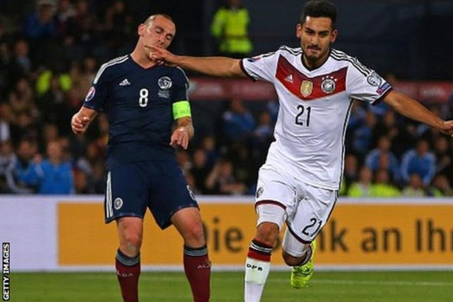 Euro 2016: Germany's Ilkay Gundogan set to miss tournament with knee injury