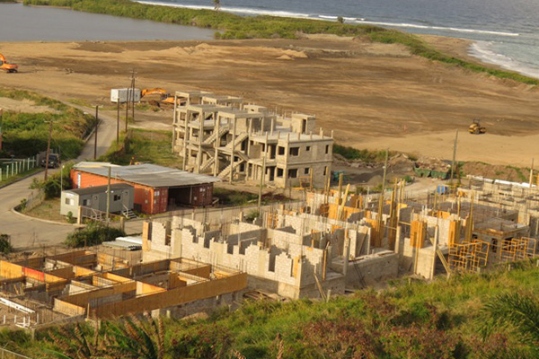 EC$7 million invested to date on Imperial Bay St. Kitts Golf & Beach Residences, 60 persons employed on the project