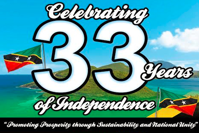 Notes of congratulations pour in from near and far for St. Kitts and Nevis' 33rd Anniversary of Independence