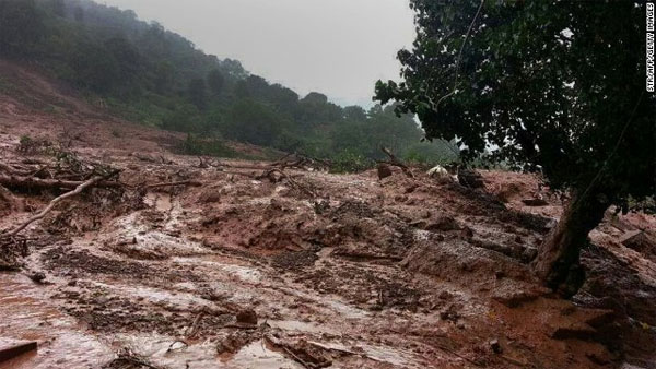 Official: Landslides trap 150 people or more in western India