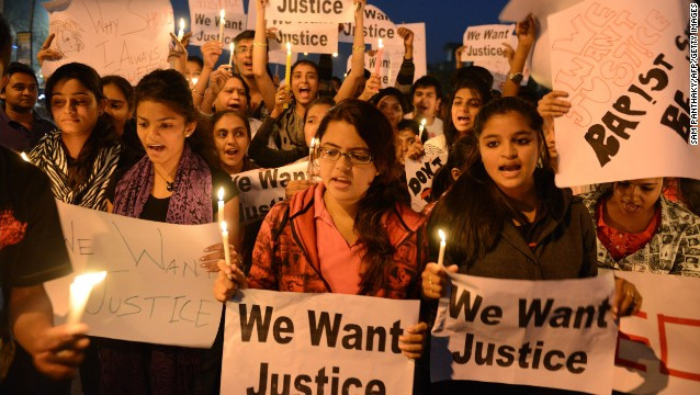 3 suspects confess in India gang rape; community outraged