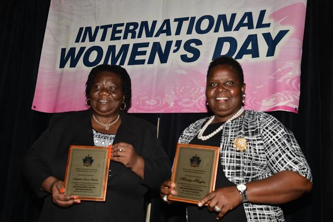 6 Awarded on International Women's Day