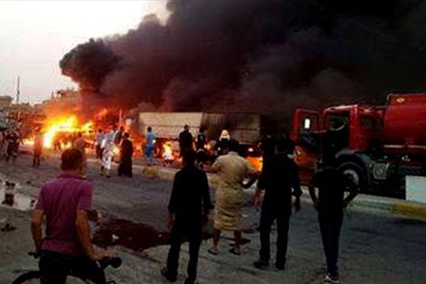 4 people killed when car bomb explodes near Iraqi governor's office