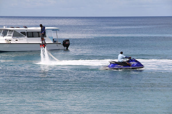 Islander Water Sports impresses Nevis Tourism Minister