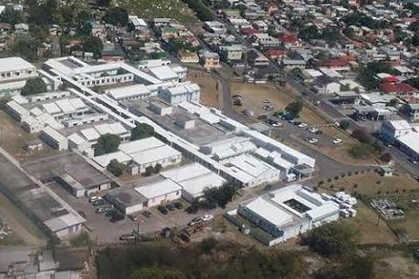 J. N. France General Hospital in for major renovation