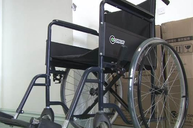 People of ROC (Taiwan) Donate Wheelchairs to Hospital