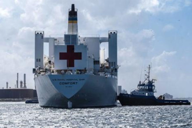 US Navy hospital ship to offer medical services in Jamaica