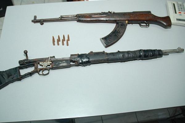 Police seize two AK 47 rifles in Whitfield Town, Kingston