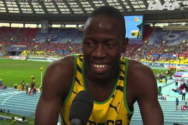 Jamaican athlete joins Puma Brand