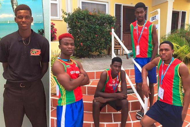 SKN takes gold at CARIFTA Games