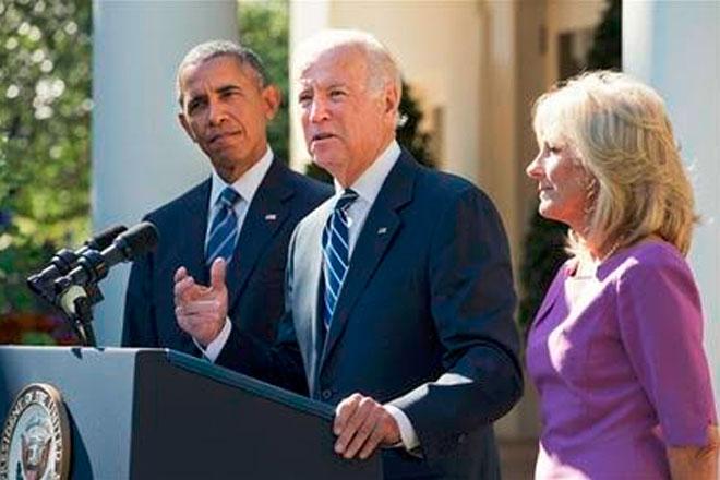 VP Joe Biden Says He Will Not Run for President in 2016
