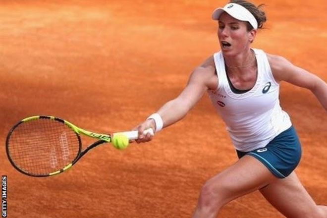 Italian Open: Johanna Konta beaten by Misaki Doi in Rome