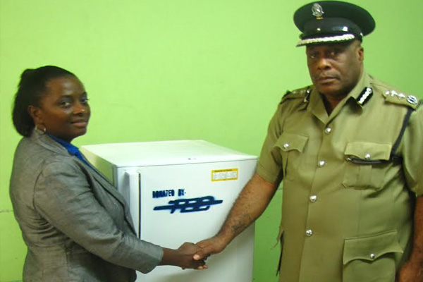 TDC Group strengthens relationship with the Royal St. Christopher and Nevis Police Force through Corporate Donation