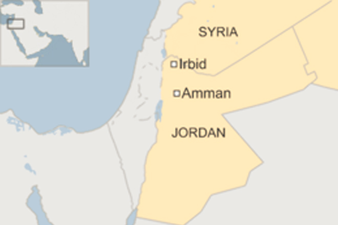 Jordan security forces battle 'outlaws' in Irbid