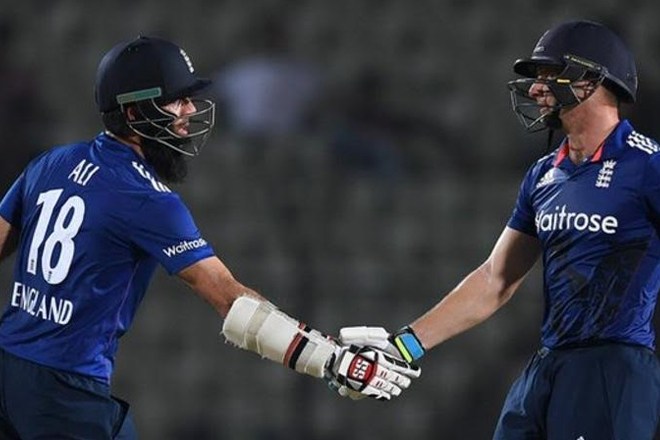 England seal four-wicket win in lone warm-up game in Bangladesh