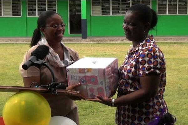 Joycelyn Liburd Primary celebrates 35th Anniversary; recognises longest serving teacher