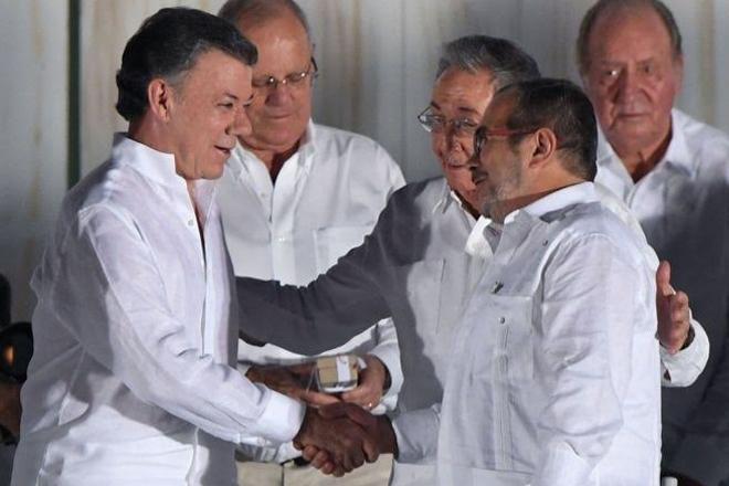 Nobel Peace Prize for Colombia's Juan Manuel Santos