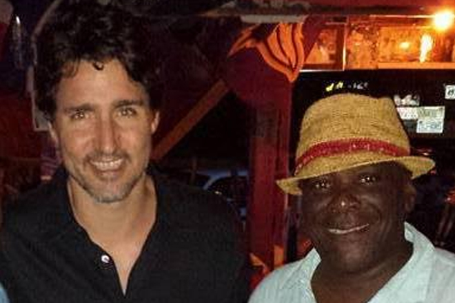 Canada's Prime Minister visits St. Kitts-Nevis