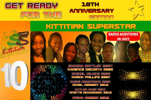 The search for a New Kittitian Superstar Begins