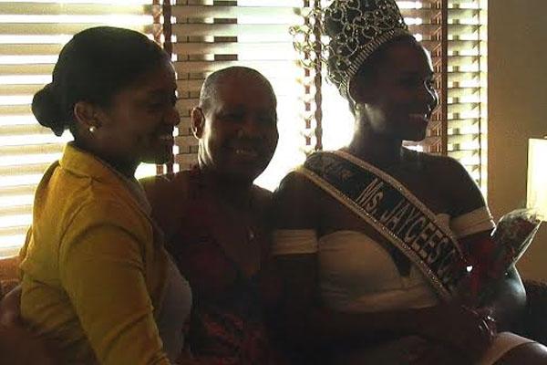 Warm reception for Miss Jaycees Caribbean Queen
