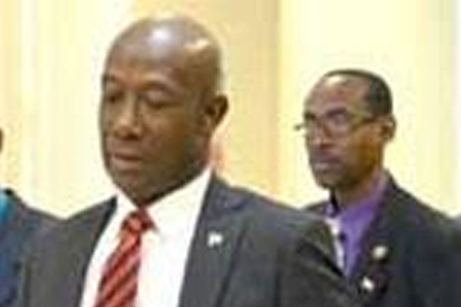 Trinidad opposition leader suspended from parliament