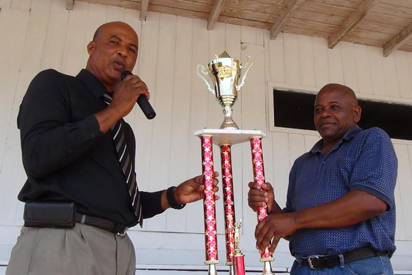 Green is first ever Draughts Champion in Nevis