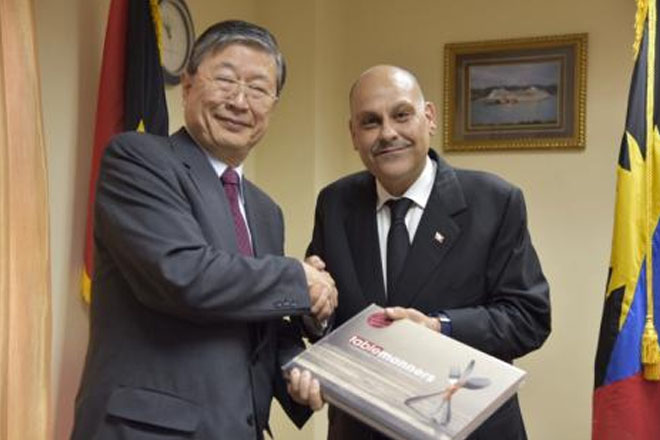Antigua-Barbuda and Japan hold high level discussions on energy and tourism