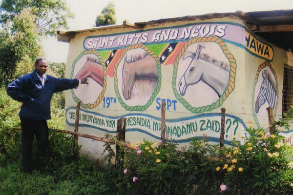 Mural unveiled in Kenya to celebrate St. Kitts and Nevis' Independence