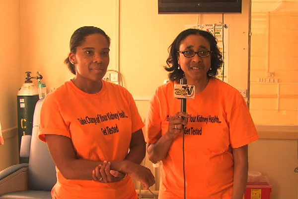 Kidney Screenings on St. Kitts Going Smoothly