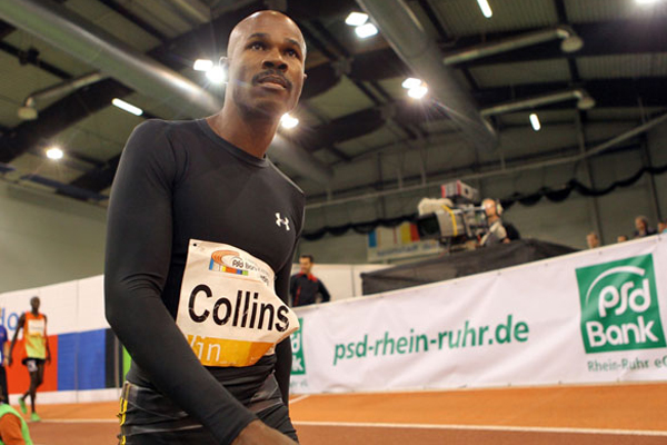 Kim Collins runs world leading time in Poland