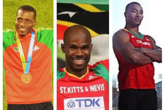 Collins, Adams and Lawrence to Represent St. Kitts-Nevis at World Championships