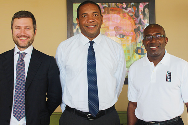 LIME Regional CEO pays visit to St. Kitts
