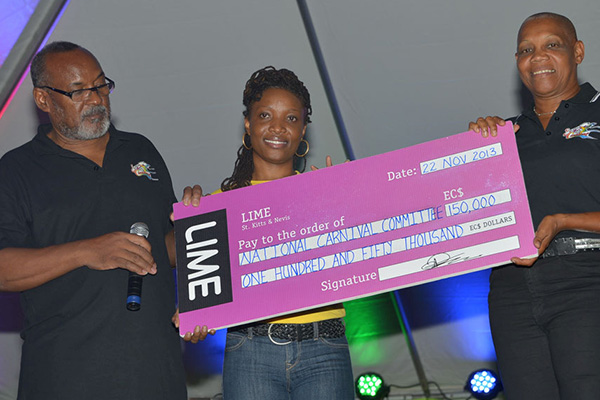 LIME reconfirms its commitment with sponsorship for the 2013/14 Carnival Season
