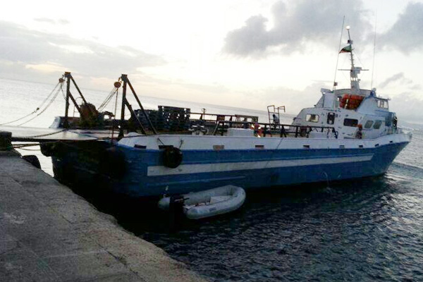 Motor Vessel Lady Mignonne capsizes