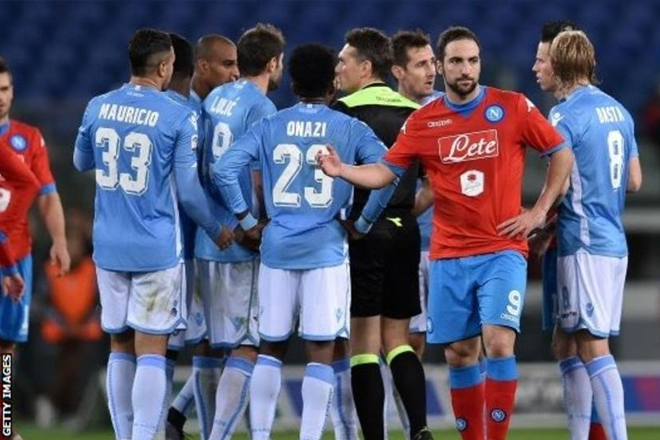 Lazio: Serie A club fined for racist chanting against Napoli