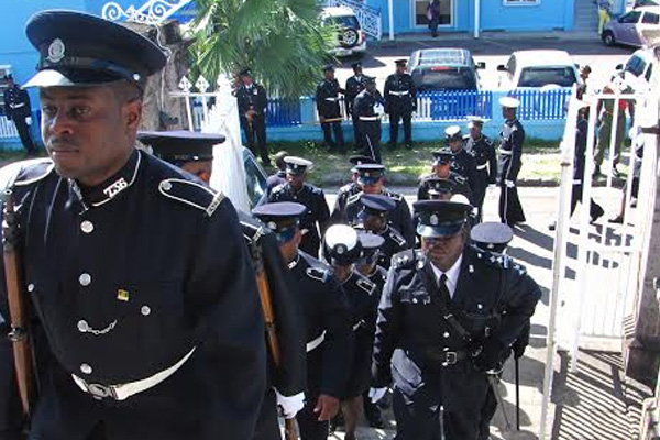 Constable Lesley L Williams laid to Rest