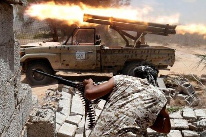 US launches air strikes on IS in Libya