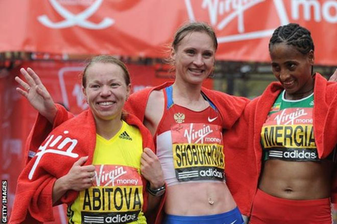 Liliya Shobukhova: Russian runner ordered to repay £377K to London Marathon